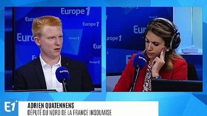 Adrien Quatennens - Europe 1 mardi 3 septembre 2019