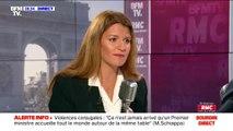 """Marlène Schiappa """"pense qu'il faut interrompre les matchs"""" lorsqu'il y a des injures homophobes """"mais qu'il faut surtout maintenant du dialogue"""""""