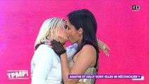 TPMP : le baiser langoureux entre Agathe Auproux et Kelly Vedovelli