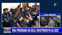 Mga programa ng DILG, paiigtinginin pa sa 2020