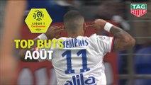 Top buts Ligue 1 Conforama - Août (saison 2019/2020)