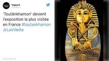 L'expo Toutânkhamon bat des records et devient la plus visitée à Paris