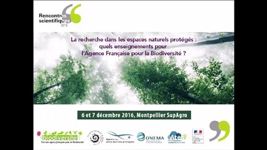 Rencontres scientifiques 2016 : Renforcer le lien entre recherche et espaces protégés : les recommandations issues du 3ème colloque national des aires marines protégées (octobre 2015) - Alain Barcelo