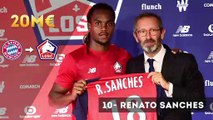 Ligue 1 : le top 10 des plus gros transferts du mercato