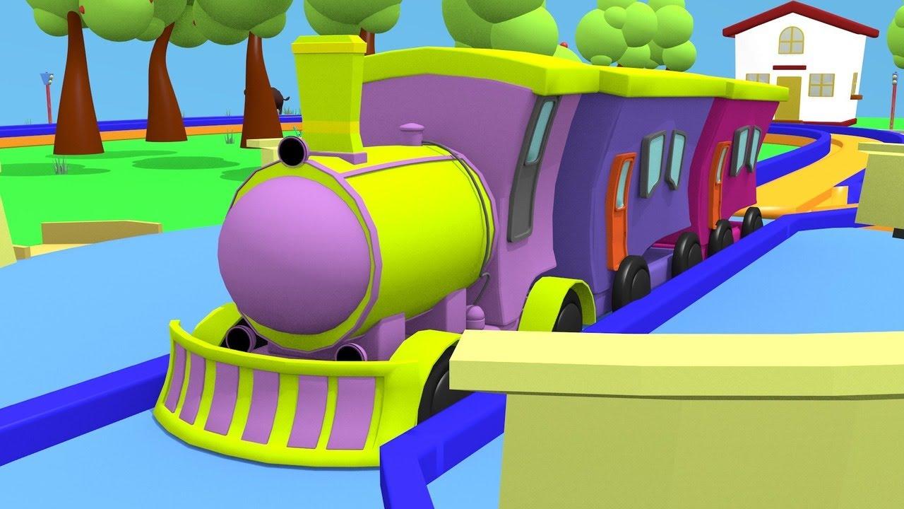 Train Toys Cartoon – Bob Train – Kids Videos for kids Train Cartoon  Toy Trains Videos for Kids