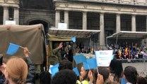Les 75 ans de la Libération commémorés à la Colonne du Congrès à Bruxelles