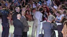 Timothee Chalamet hugs crying fans in Venice