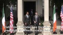 US VP meets Irish PM for bilateral talks