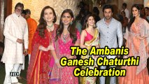 Ambani's Ganesh Chaturthi Celebration: Alia Bhatt, Ranbir Kapoor and others attend