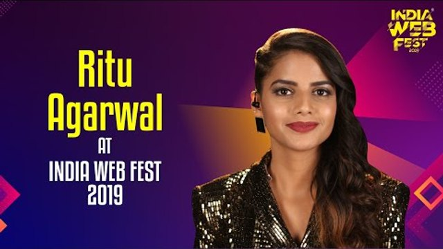 Ritu Agarwal speaks at India Web Fest