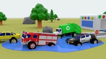 MONSTER TRUCK Street Vehicles to Learn Colors for Children to Learn with Hot Wheels Car Toy