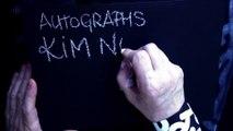 """"""" KIM NOVAK """" AUTOGRAPHS PRIVATE COLLECTION JAK ARNOULD ©ADAGP"""