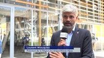 Reportage - Laurent Wauquiez à Voiron