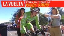 Départ pour Roglic / Roglic starts  - Étape 10 / Stage 10 | La Vuelta 19