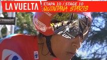 Départ pour Quintana / Quintana starts - Étape 10 / Stage 10 | La Vuelta 19