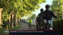Rentrée : des vélos gratuits pour remplacer les bus scolaires