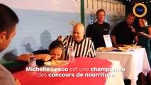 Elle engloutit plus de 3 pots de mayonnaise en 3 minutes, son troisième record du monde de mangeuse !