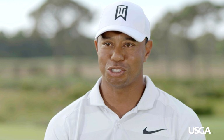 Tiger Woods Discusses Winning Three Straight U.S. Amateur Titles