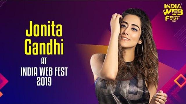 Jonita Gandhi speaks at India Web Fest 2019