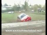 crash Kaakkois rallye 2007