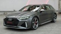 The new Audi RS 6 Avant Exterior Design