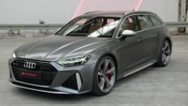 The new Audi RS 6 Avant Design Preview