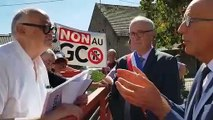 Les anti-GCO à la rencontre du préfet