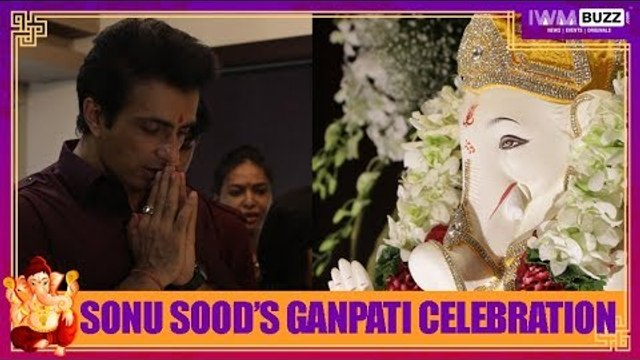 Exclusive: IWMBuzz celebrates Ganesh Chaturthi with Sonu Sood