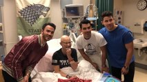 Jonas Brothers Surprise Fan Undergoing Chemotherapy With Hospital Visit