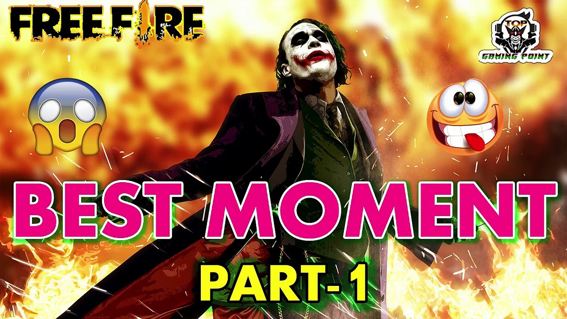 BEST MOMENT PART -1 (GARENA FREE FIRE ) TOP GAMING POINT #TgpYT