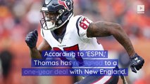 Demaryius Thomas Re-Signs With Patriots 2 Days After Release