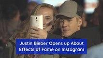 Justin Bieber Struggles With Fame