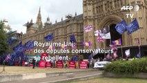Brexit: les députés britanniques divisés sur la possibilité d'une rébellion