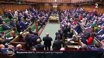Brexit : un député quitte Boris Johnson, et perd sa majorité absolue