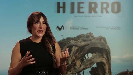 Candela Peña habla de su personaje en la serie Hierro