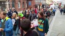 Anti-Brexit protesters in Brighton to 'defend democracy' against Boris Johnson