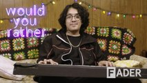 Cuco has the craziest DJ names in 'Would You Rather'