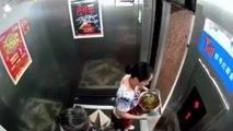 Une femme échappe de justesse à une mort atroce dans un ascenseur