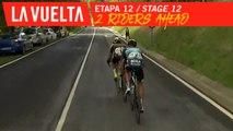 2 riders ahead - Étape 12 / Stage 12 | La Vuelta 19