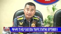 PNP-HPG to help ease EDSA traffic starting September 9