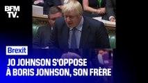 Quand JoJo s'oppose à Bojo: le Brexit divise la fratie Johnson