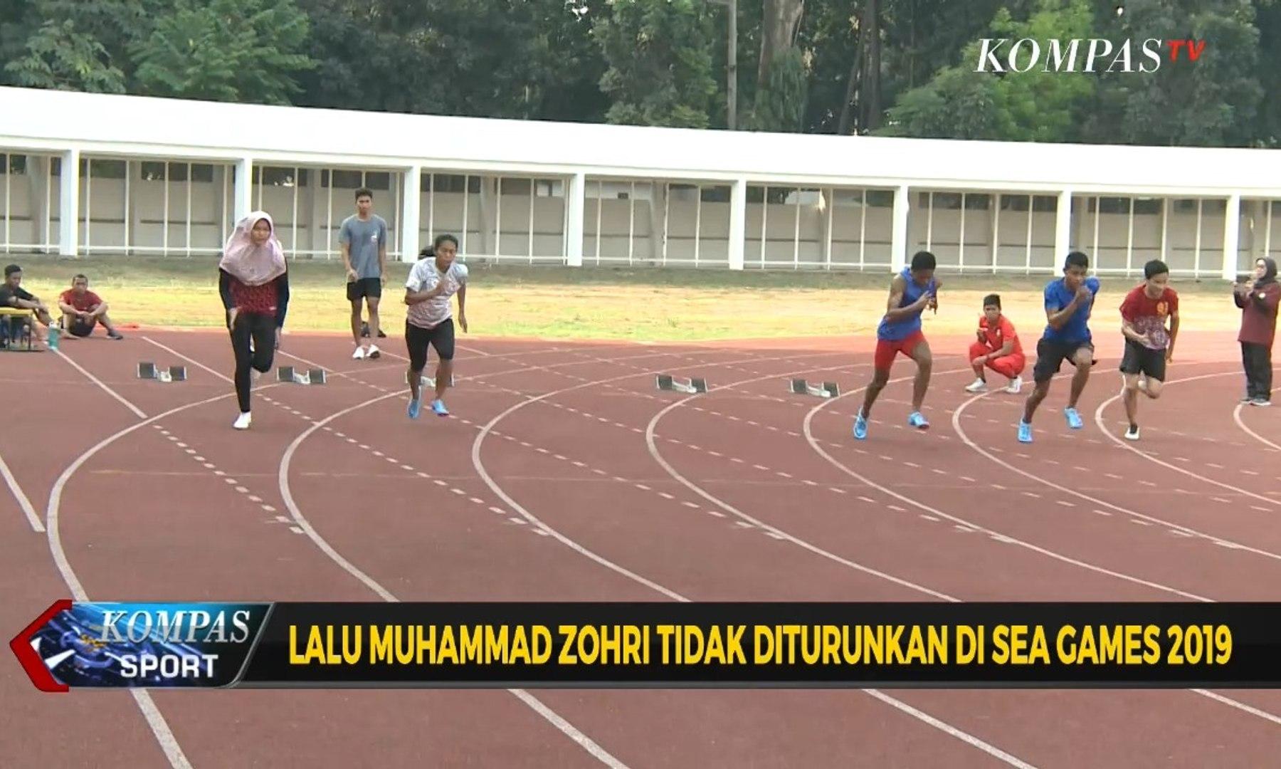 Lalu Muhammad Zohri Tidak Diturunkan di Sea Games 2019