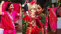 Shilpa Shetty's crazy dance during Ganpati Visarjan with family; Watch video | FilmiBeat