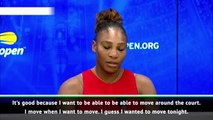 Serena leaves Wang without a winner