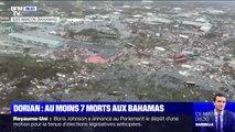 Les ravages de l'ouragan Dorian sur les Bahamas