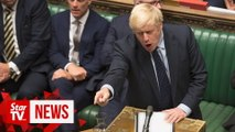 Opponents of 'no-deal' Brexit vote to defeat Johnson