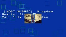 [MOST WISHED]  Kingdom Hearts: Final Mix, Vol. 1 by Shiro Amano
