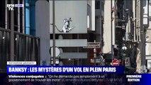Cette oeuvre de Banksy taguée près du centre Pompidou à Paris a été volée dans la nuit de dimanche à lundi