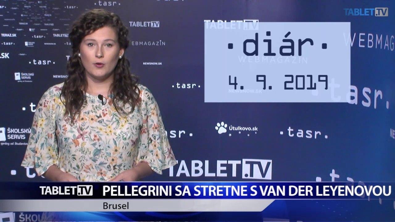 DIÁR: P. Pellegrini sa stretne s novou šéfkou Európskej komisie Ursulou von der Leyenovou