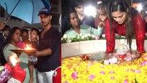 Salman Khan's sister Arpita Khan Sharma's Ganpati Visarjan video goes viral   FilmiBeat